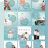 Clinic in Saudi Arabia Jeddah Social Media Designs including infographic