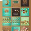 Sweets shop in Saudi Arabia Jeddah Social media graphic designs